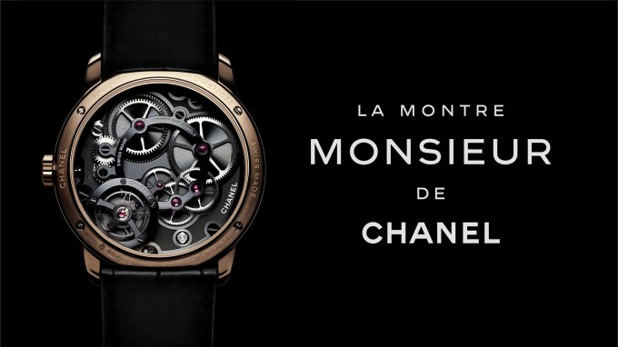 Chanel unveils the Monsieur Watch; it's first ever men's timepiece