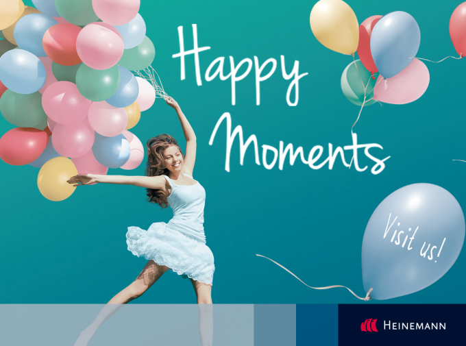 Enjoy Happy moments with Heinemann duty free