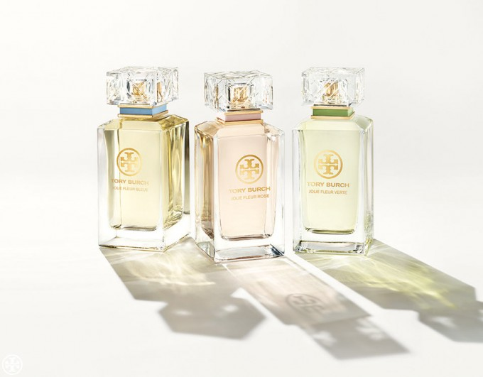Tory Burch introduces three new floral fragrances for Spring