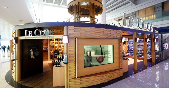Le Clos opens sixth fine & spirits wine store at Dubai International
