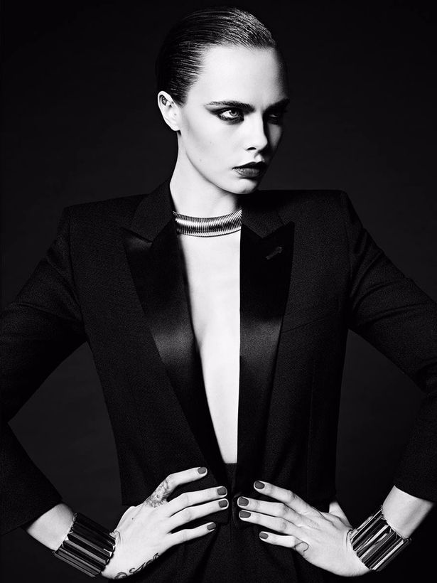 Cara's Comeback: Back in fashion as face of Saint Laurent