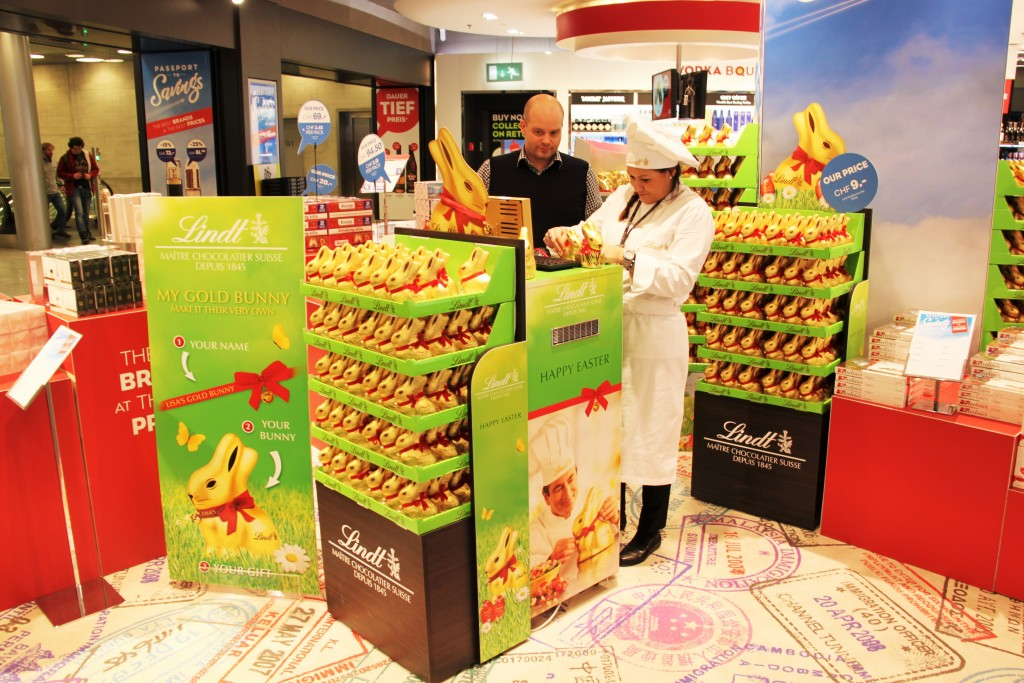 Lindt Easter promotion
