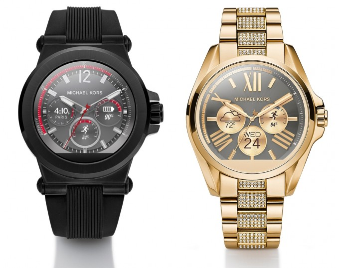 Michael Kors teams with Google to launch first smartwatch