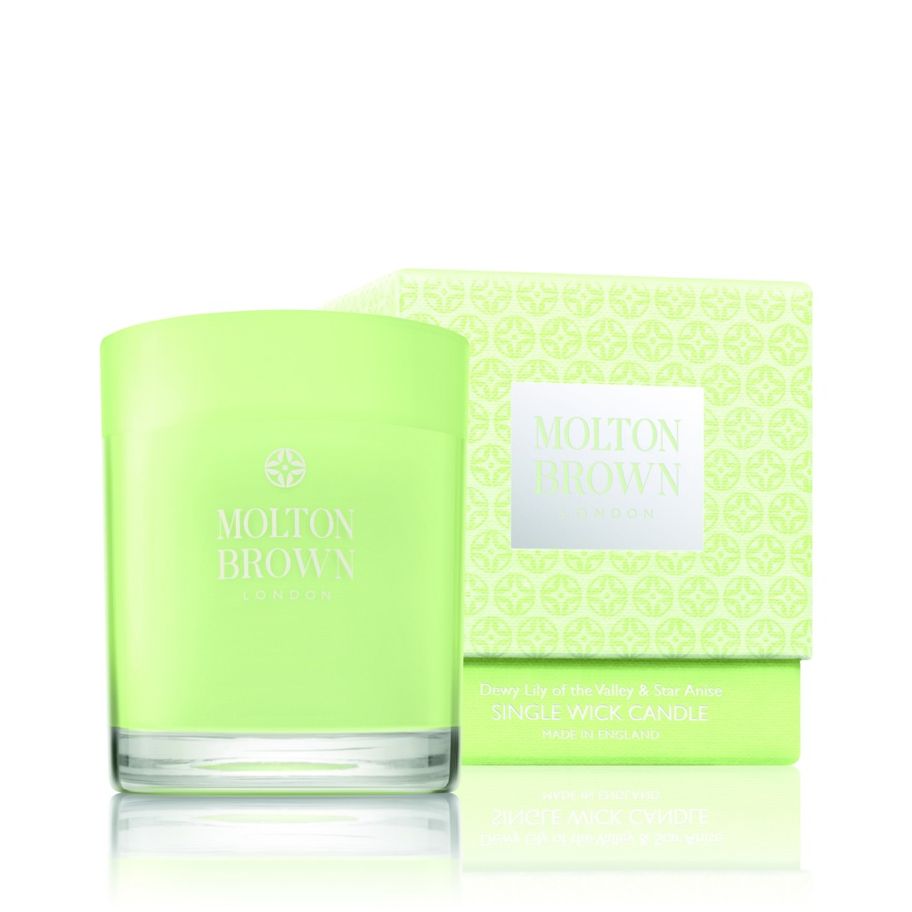 Molton Brown Dewy Lily of The Valley Single Wick Candle