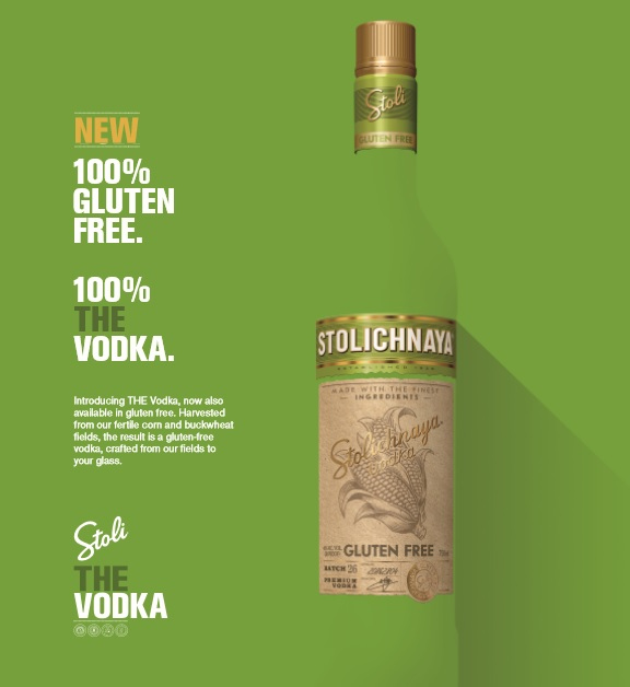 Stoli adds gluten-free vodka edition to its range
