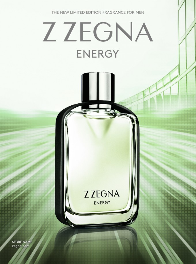 Z Zegna brings Energy to duty-free: new fragrance from Ermenegildo Zegna