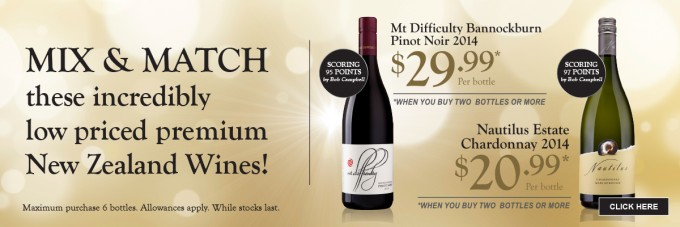 SAVE: New Zealand wines on special offer at Aelia Duty Free NZ