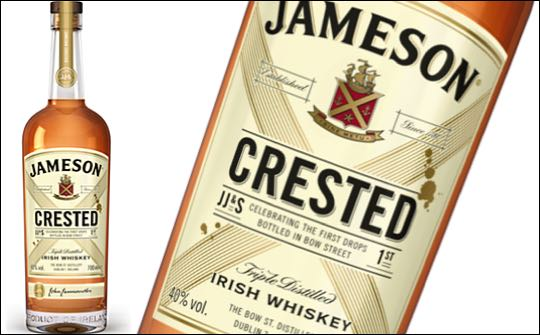 FIRST LOOK: Jameson Crested Irish whiskey set for global launch