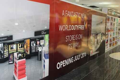 World Duty Free begin revamp of store at Birmingham Airport