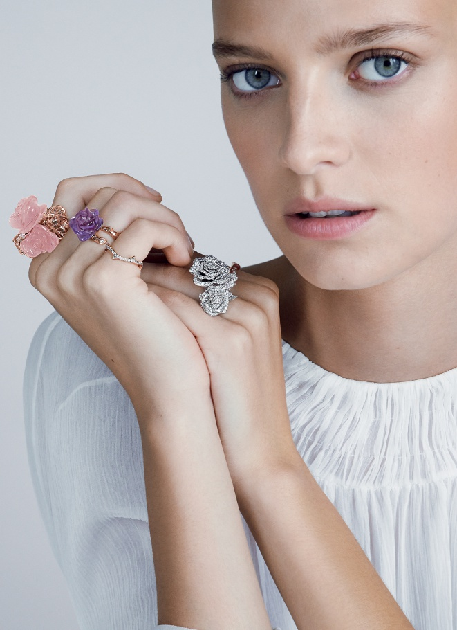 Dior unveils La Rose jewellery collection