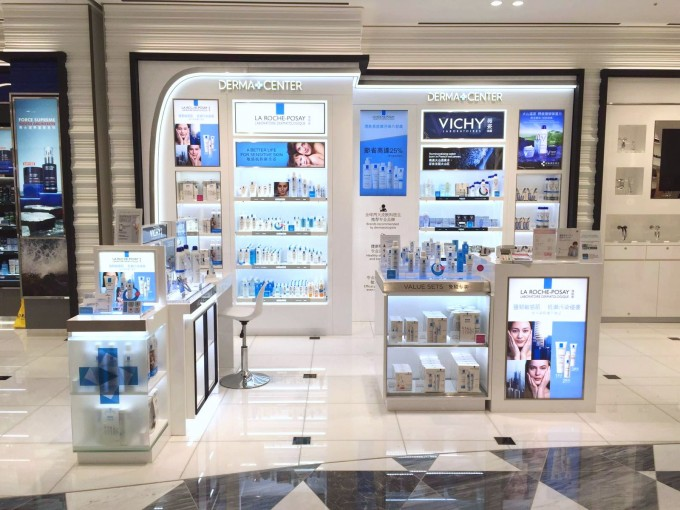 L'Oréal continues roll out of DermaCenter in duty-free locations
