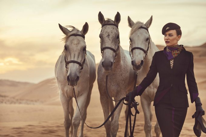 Fashion gets its first official airline; Etihad on the runway