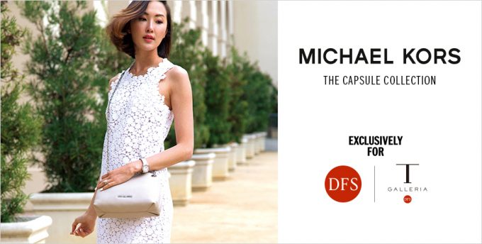 Michael Kors designs exclusive capsule collection for DFS