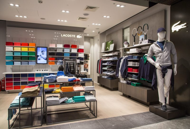 attractive price a few days away factory price Lacoste opens stunning new store at LHR T4 - Duty Free ...
