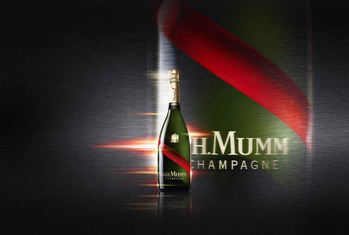 Mumm reveals new Grand Cordon Champagne bottle