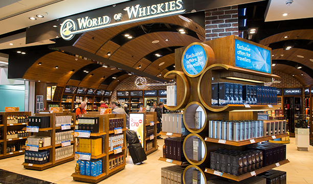 World Duty Free Whisky Experience in full flow