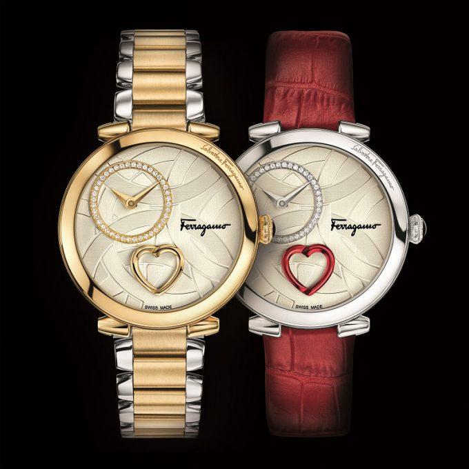 Ferragamo makes time for love