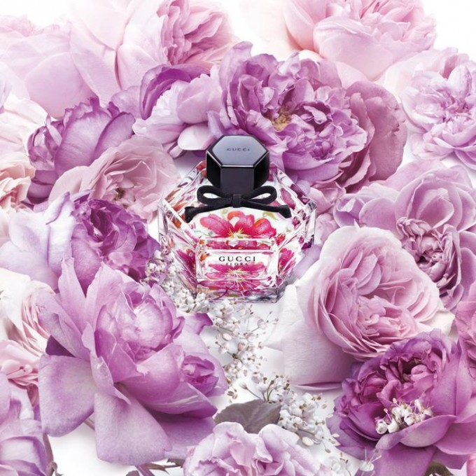 Gucci honours iconic Flora print with special fragrance