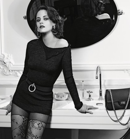 Kristen Stewart vamps it up for Chanel