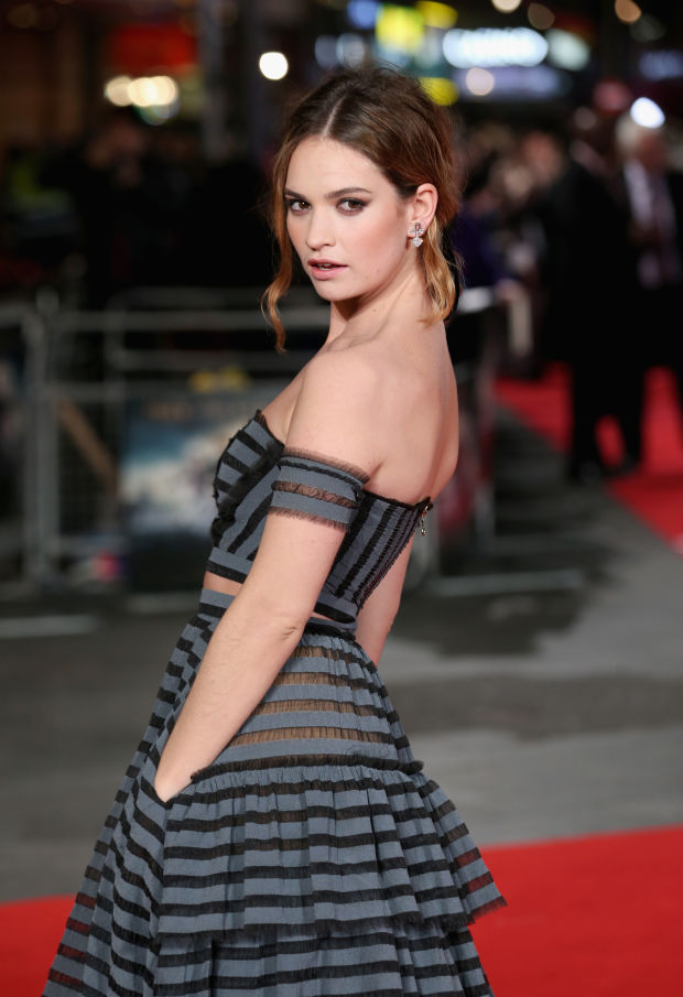 Lily James to front My Burberry Black fragrance