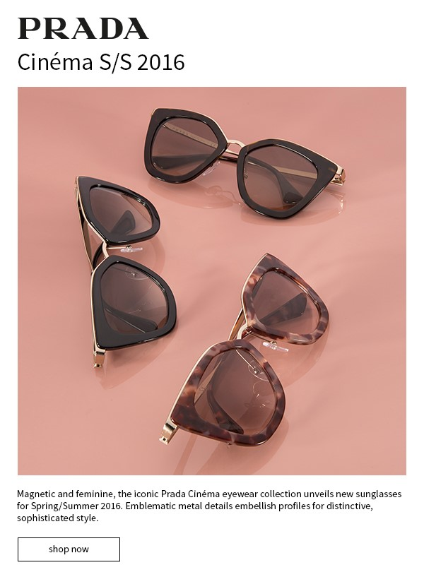 d74c701cf69 Prada shades it with new Cinema sunglasses - Duty Free Hunter - Duty ...