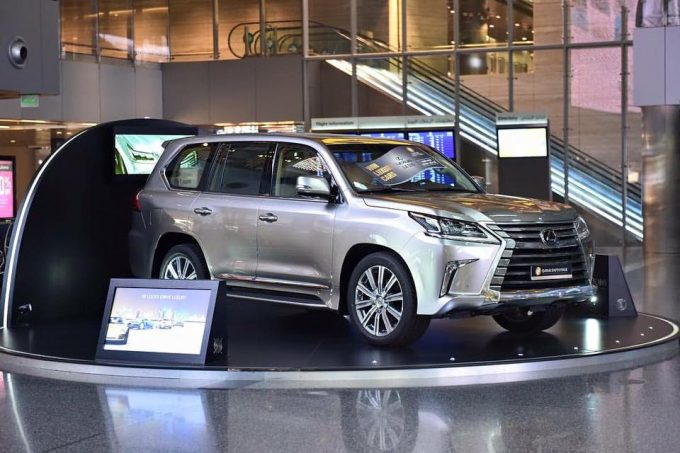 WIN: Luxury Car Draw at Qatar Duty Free starts