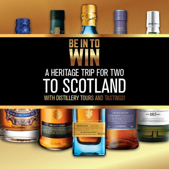 WIN a trip for 2 to Scotland with Aelia Duty Free New Zealand