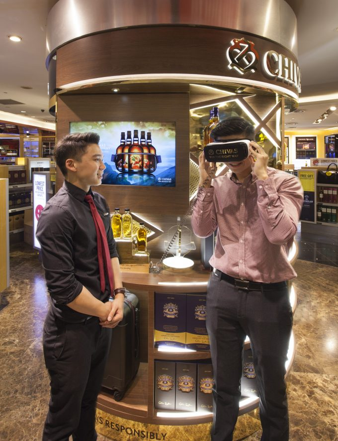Chivas Regal introduces The Taste Discovery at Asian airports