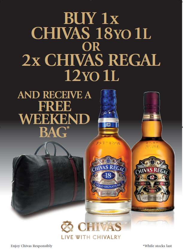 Reward yourself with Chivas Regal at Lagos Airport duty-free