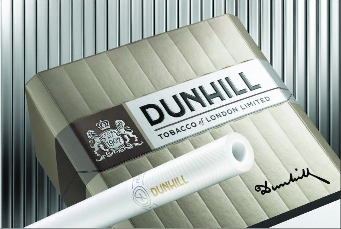 Dunhill unveils new look & 'best blend ever' in duty-free shops