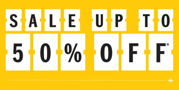 DFS kicks off global fashion sale with up to 50% off major labels