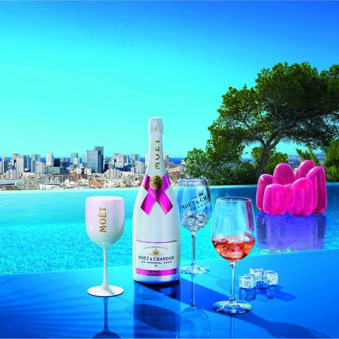 Pink, Fizz, Rocks: Moët launches Ice Impérial Rosé Champagne