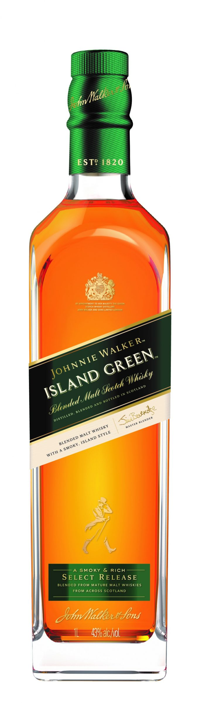 Johnnie Walker unveils Island Green blended malt; Exclusive to duty-free