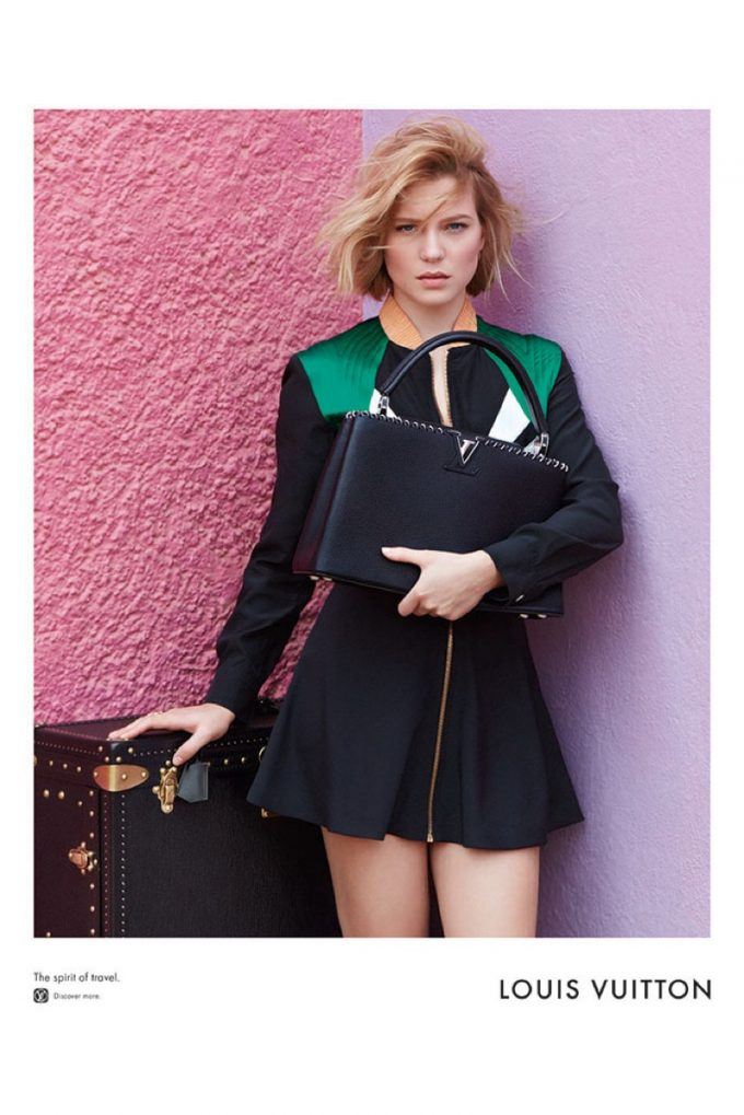 Lea Seydoux is the Spirit of Travel for Louis Vuitton