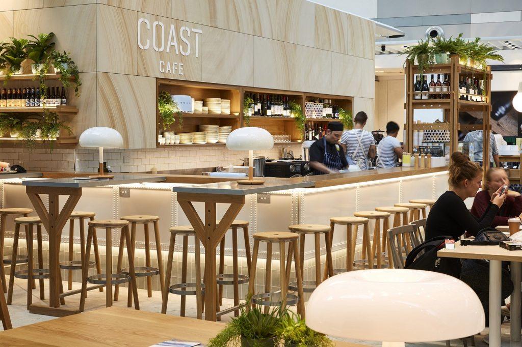 Sydney Airport T1 Heinemann Tax & Duty Free - Coast Cafe