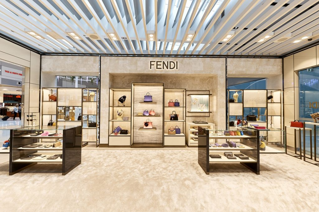 Sydney Airport T1 Heinemann Tax & Duty Free - Fendi