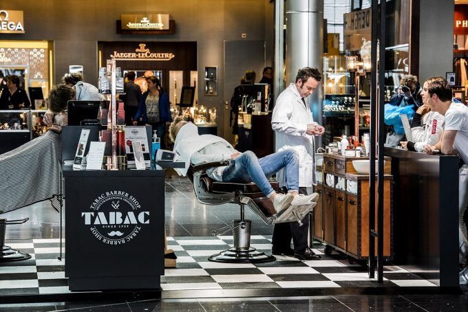 Close shave at Amsterdam Airport with Tabac Men's Fragrance