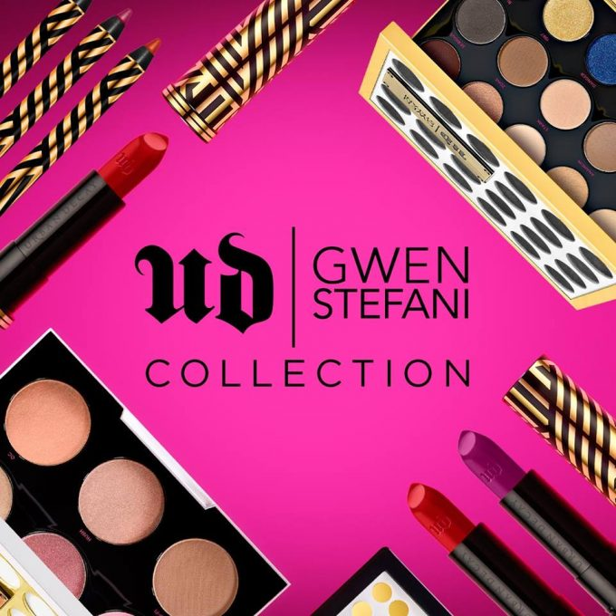 WIN: Urban Decay Gwen Stefani make-up with Shilla Duty Free