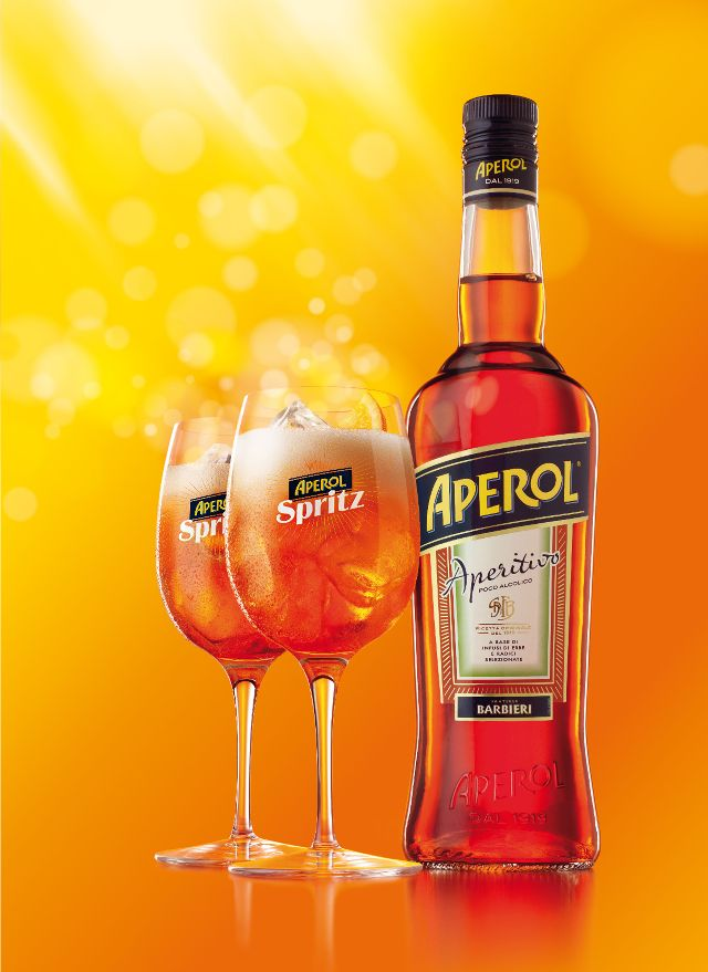 Aperol Spritz is packed & ready to fly out of duty-free shops this summer