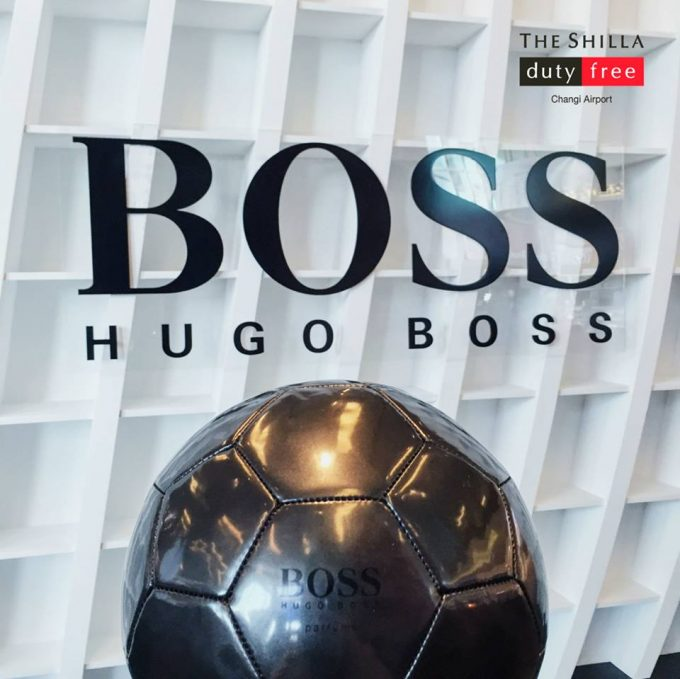 WIN: Hugo Boss football signed by Isco – with Shilla Duty Free
