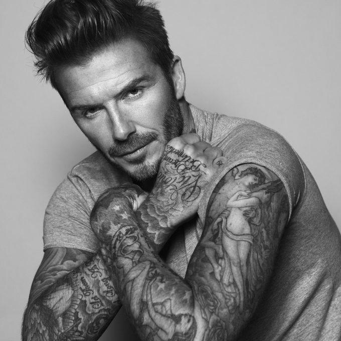 David Beckham signs for Biotherm; Star will develop a men's grooming line