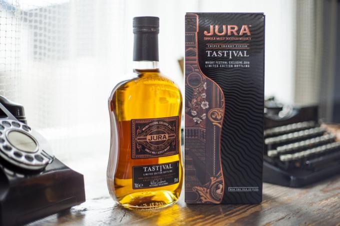Jura Tastival bottling brings Festival flavours to life