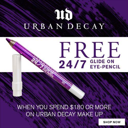 Urban Decay rewards shoppers at Aelia Duty Free Auckland