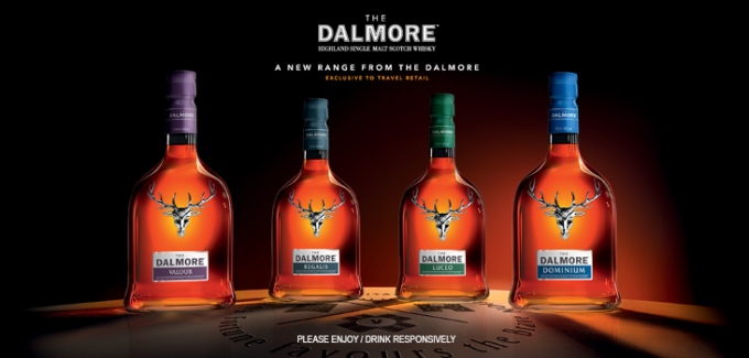 The Dalmore launches Fortuna Meritas – Duty Free Exclusive range