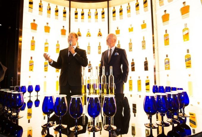 Luxury Scotch Whisky Embassy lands in Amsterdam Airport Schiphol