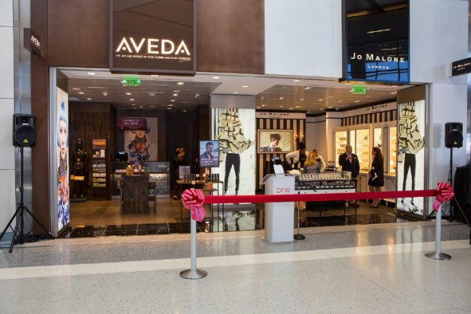 New Aveda, Jo Malone & MAC Cosmetics stores give DFW Airport customers luxury beauty options