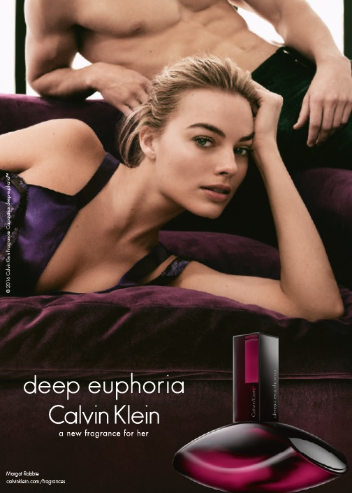 Calvin Klein launches Deep Euphoria with Margot Robbie