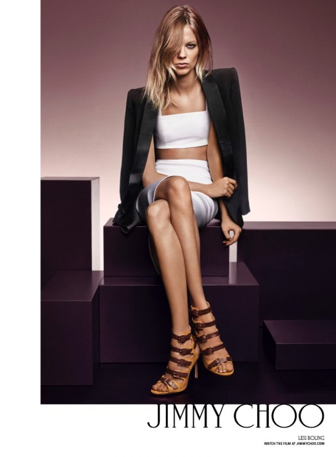 Magnificent Seven: Jimmy Choo hires 7 supermodels for autumn campaign