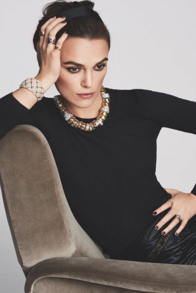 Keira Knightley fronts Chanel Coco Crush campaign