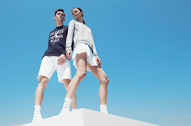 Match point: Did you catch the Lacoste Roland Garros collection?